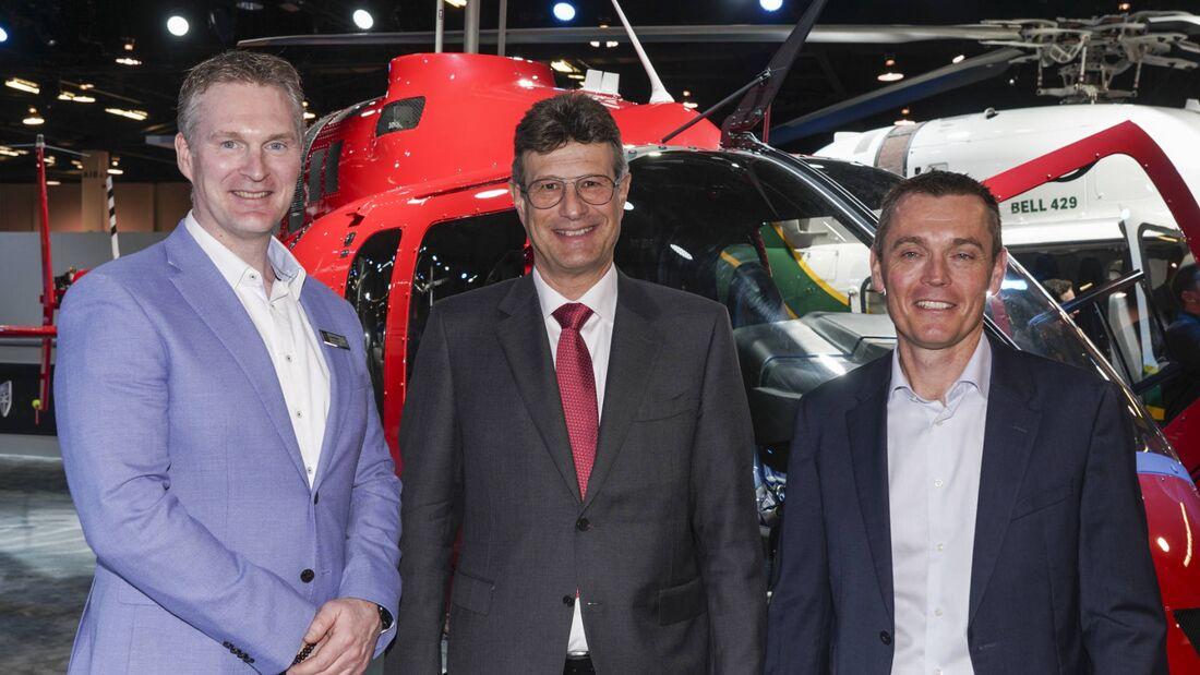 Centaurium Aviation ist neuer unabhängiger Vertreter von Bell für die Schweiz.