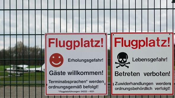 Das Atlas Airfield in Ganderkesee setzt auch auf Angeboten anstatt Verbote.