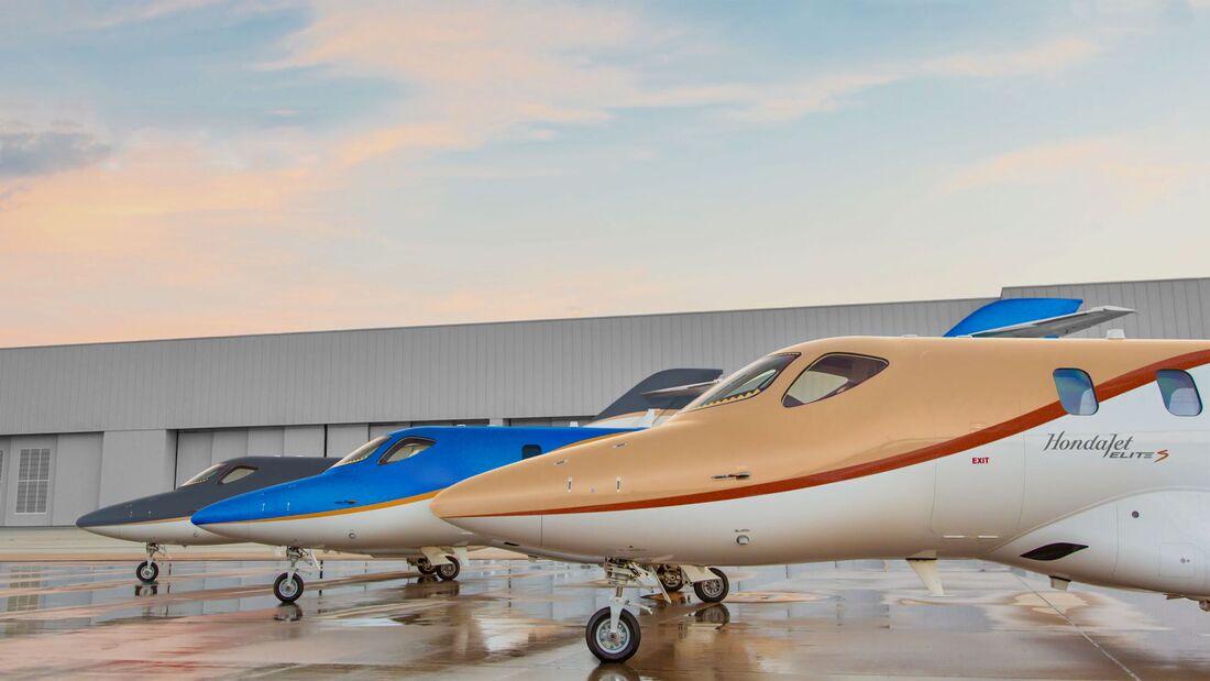 Der HondJet Elite S wird ab Juni 2021 lieferbar sein.