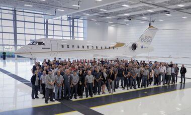 Die Bombardier Global 6500 erhielt Ende September 2019 ihre kanadische Zulassung.