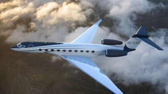 Die Gulfstream G700 wurde auf der NBAA 2019 in Las Vegas angekündigt.