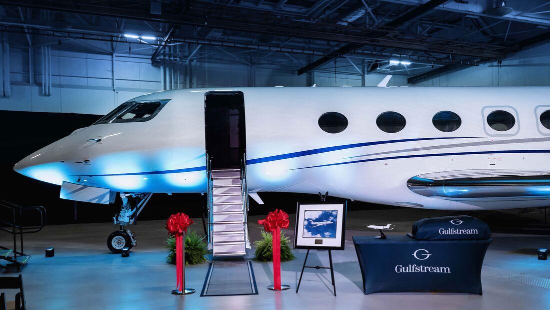 Gulfstream G600 erste Lieferung August 2019.