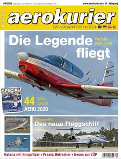 Inhaltsverzeichnis aerokurier 4/2020